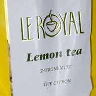 Le Royal Tea Lemon